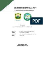 Actividades Economicas Sostenibles 1.1