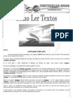 Português - Pré-Vestibular Impacto - Análise de Conteúdo - Texto 04