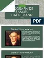Biografía Hahnemann