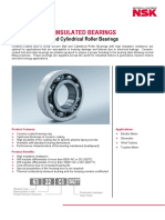 NSK Electrically Insulated Bearings 1306