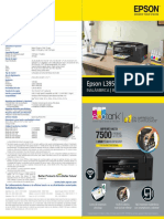 Folleto Epson EcoTank L395