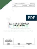 9. Guia de Manejo de Trauma Dentoalveolar.pdf
