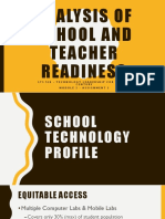analysis of school and teacher readiness