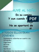 Instruye Al Niño