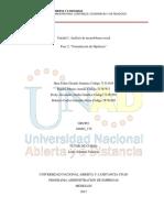 Unidad 1 Fase 2 - Formulación de Hipótesis