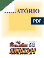 17 Encontro Nacional Mndh 2012