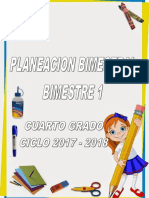 01 Plan 4to Grado - Bloque 1 2017 - 2018