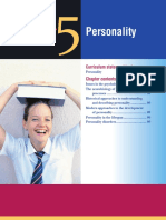 chapter 5 - personality