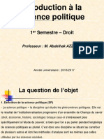 Intro Science Politique S1