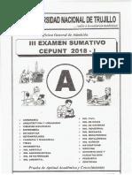 Cepunt 2018 - 1 - Examen 3 Sumativo