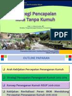 Dir PKP Strategi Percepatan Penanganan Kumuh
