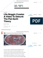 Life Noggin Creates a Video to Debunk the Flat Earth Theory  _ GOOD