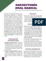 Linfadenectomía