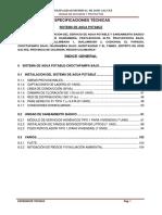 09. Especificaciones Técnicas Agua Choctapampa Bajo