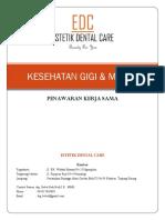 Kerja Sama Layanan Gigi & Mulut (Estetik Dental Care)