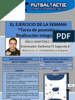 Ejercicio Semana Tarea de Posesión y 1x1 Finalización Iñigo