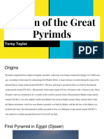 design of the great pyrimds