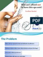 AquaGlo Mini Sales Pitch