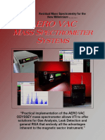 VTI Mass Spectrometer Systems Brochure