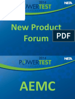 New Product Forum Combined 2014