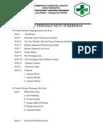 2.3.1.1.1 Pedoman-Panduan Kerja Penyelenggara Masing2-Puskesmas Tg. Beringin