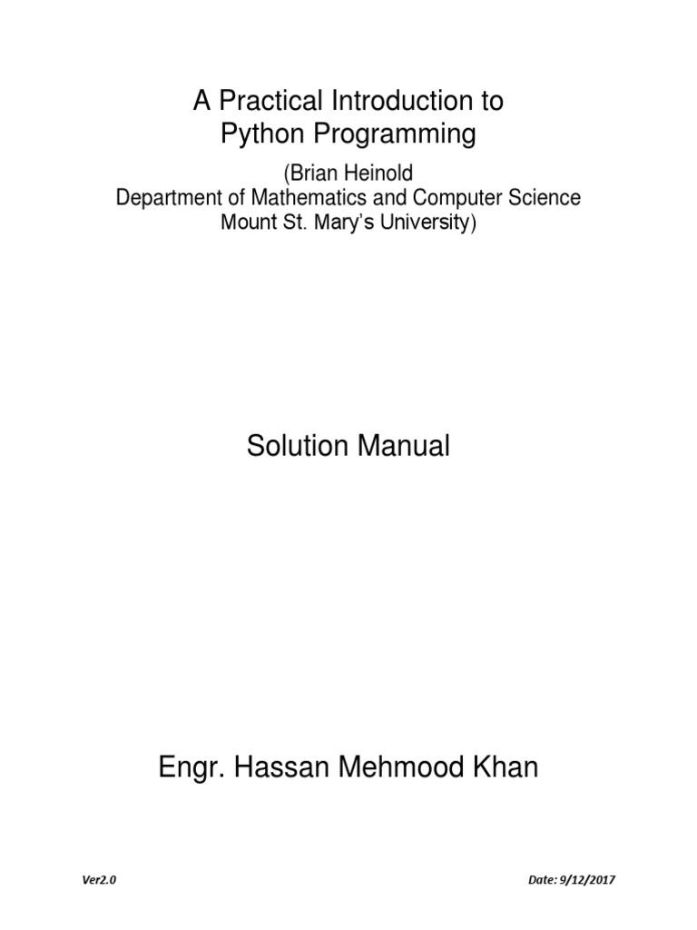 a practical introduction to python programming v2 0 computing rh scribd com Python Logo Python Programming Logo