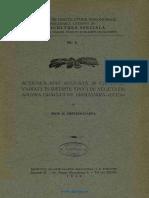 [1929] Chiritescu Arva - Actiunea Apei Aplicata Asupra Graului de Primavara
