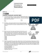 Matemática - Curso Anglo - n1 aulas4a6