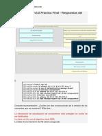 CCNA 3 Cisco v5.0 Practica Final - Respuestas Del Exámen