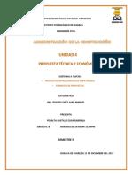 Propuesta Tecnica y Económica