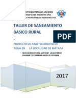 Saneamiento Proyecto Final