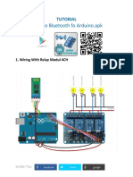 Arduino Bluetooth Ralay 4ch
