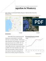 traffic congestion in monterey county