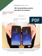 Samsung Galaxy S9_ Características, Precio, Lanzamiento y Sus Rumores - CNET en Español