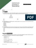 Matemática - Curso Anglo - n2 aulas10a12