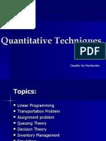 Quantitativetechniques 100411235933 Phpapp01 1