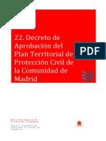 08 Decreto de Aprobación del Plan Territorial de Protección Civil de la Comunidad de Madrid.pdf
