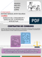 CONTRATO DE CONSUMO