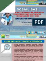 Sosialisasi Pamsimas III Tahun Anggaran 2017-2018 Manggarai Untuk Kaban