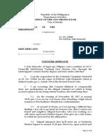 Mercado Counter-Affidavit Legforms