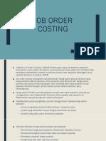 Job Order Costing 2