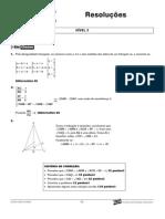 Matemática - Curso Anglo - n2 aulas16a18 Resoluções