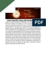 Learn Scientific Vastu With Design Gurukul