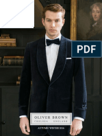 Oliver Brown Autumn Winter 2016 Catalogue