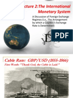02 INBU 4200 Fall 2012 the International Monetary System a Discussion of Exchange Rate Regimes