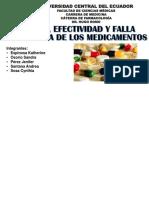 Grupo 1. Eficacia, Efectividad y Falla Terapéutica - Keo