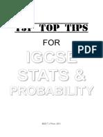 IGCSE Stats Probability.pdf