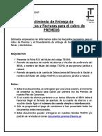 Procedimiento de Entrega Documentos y Facturas