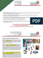 Asha Technocrats Application Products (Dosing pump, controllers, sensors, UV systems & AODD pumps)