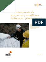 Judicialización de Proyectos y Conflictos Indígenas V5